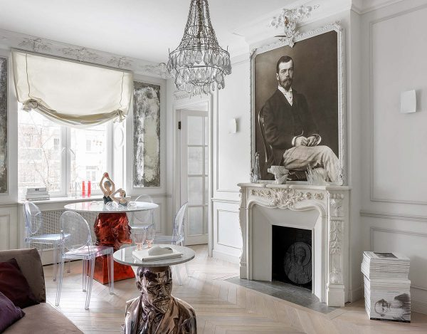 Modern-soviet-design-interiors-600x469 Home Of Surreal Interiors & Modern Empire Style Upholstery in Victoria