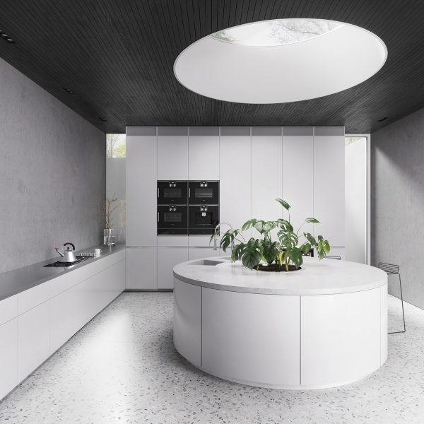 Round-skylight-600x600 Indoor Skylights: 37 Beautiful Examples To Tempt You To Have One For Yourself