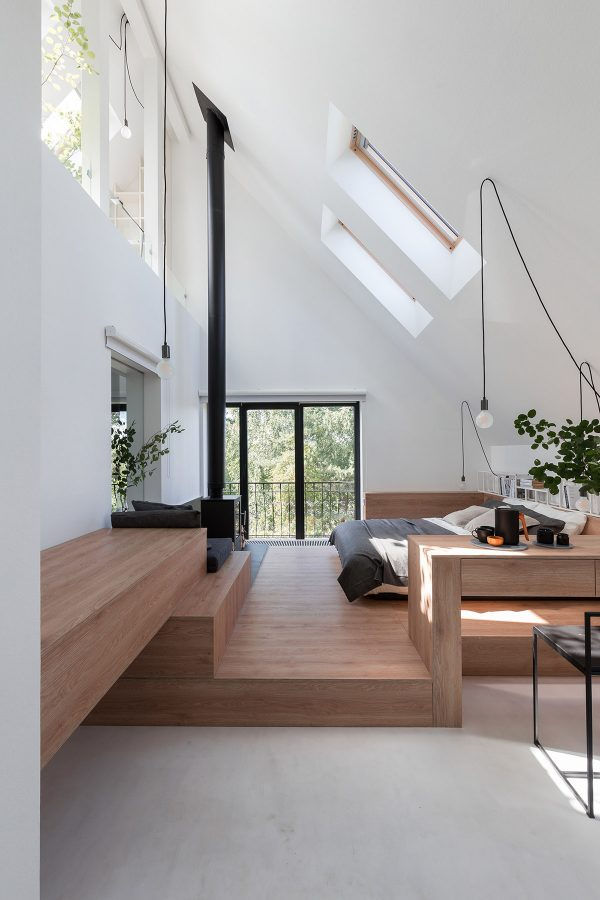 Wood-framed-velux-windows-600x900 Indoor Skylights: 37 Beautiful Examples To Tempt You To Have One For Yourself