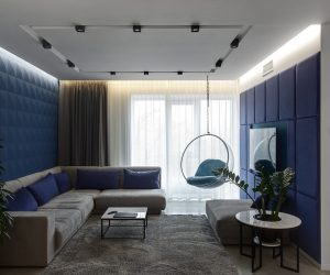 Overcoming A Dark Apartment With Ingenious Lighting Schemes