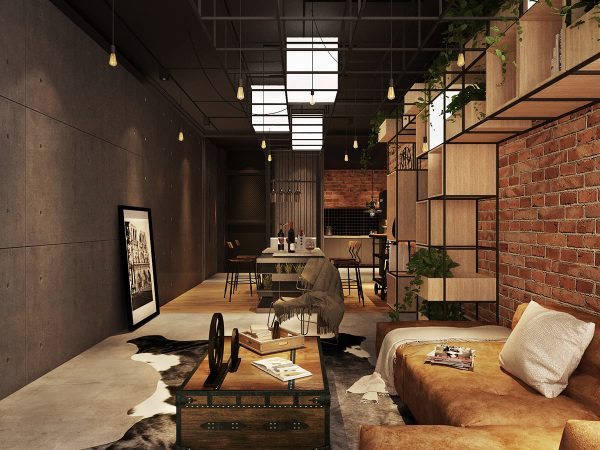 industrial-home-decor-600x450 Three Industrial Style Lofts WIth Natural Accents Upholstery in Victoria
