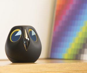 Product Of The Week: An Interactive Owl Shaped Security Camera