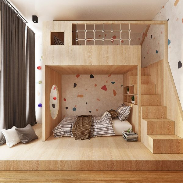 kids-beds-designs-600x600 Three Industrial Style Lofts WIth Natural Accents Upholstery in Victoria