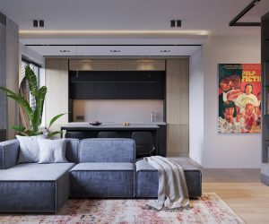 Three Industrial Style Lofts WIth Natural Accents