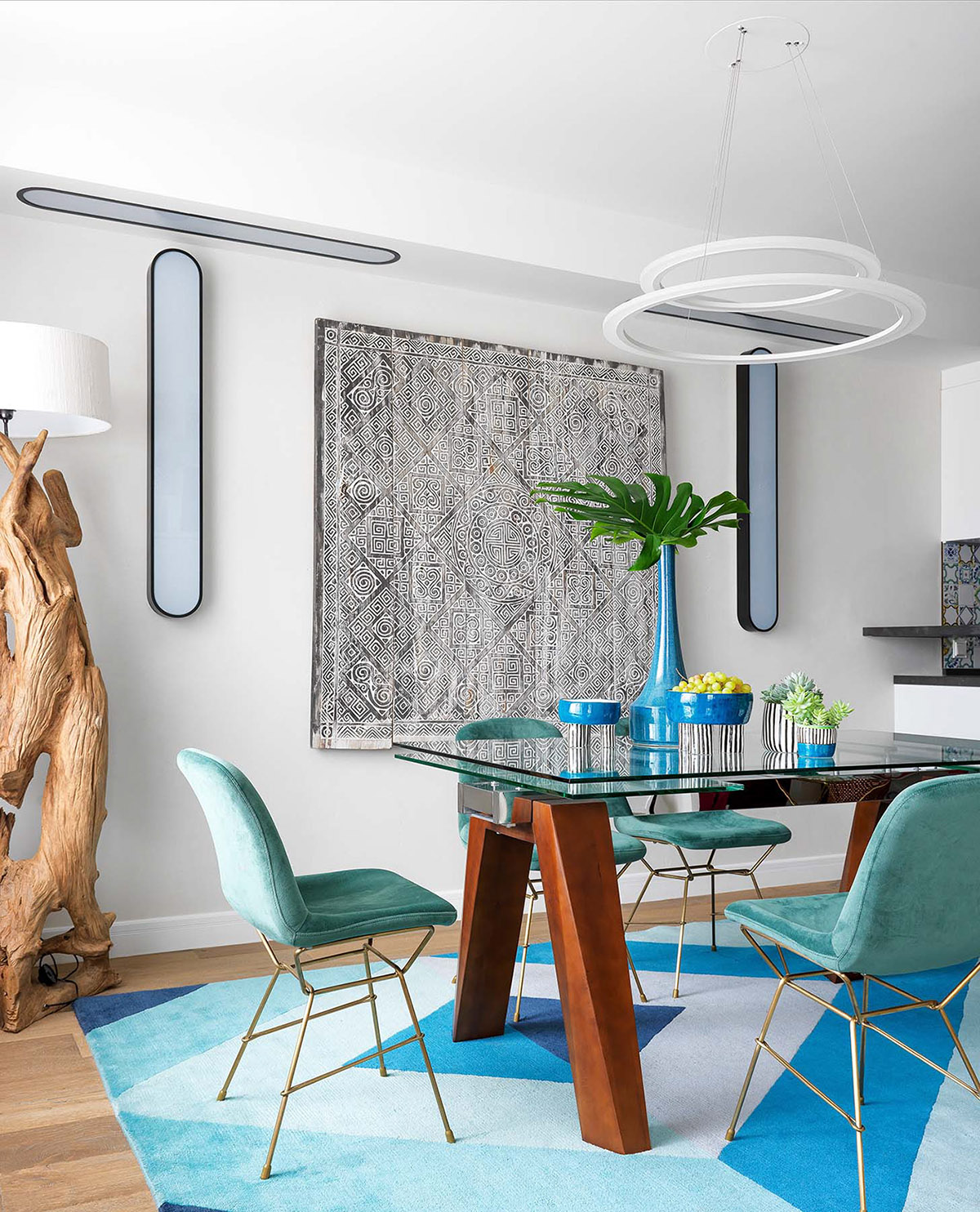 2 Quirky Interiors With Punchy Colourful Decor