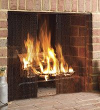 51 Decorative Fireplace Screens To Instantly Update Your ...
