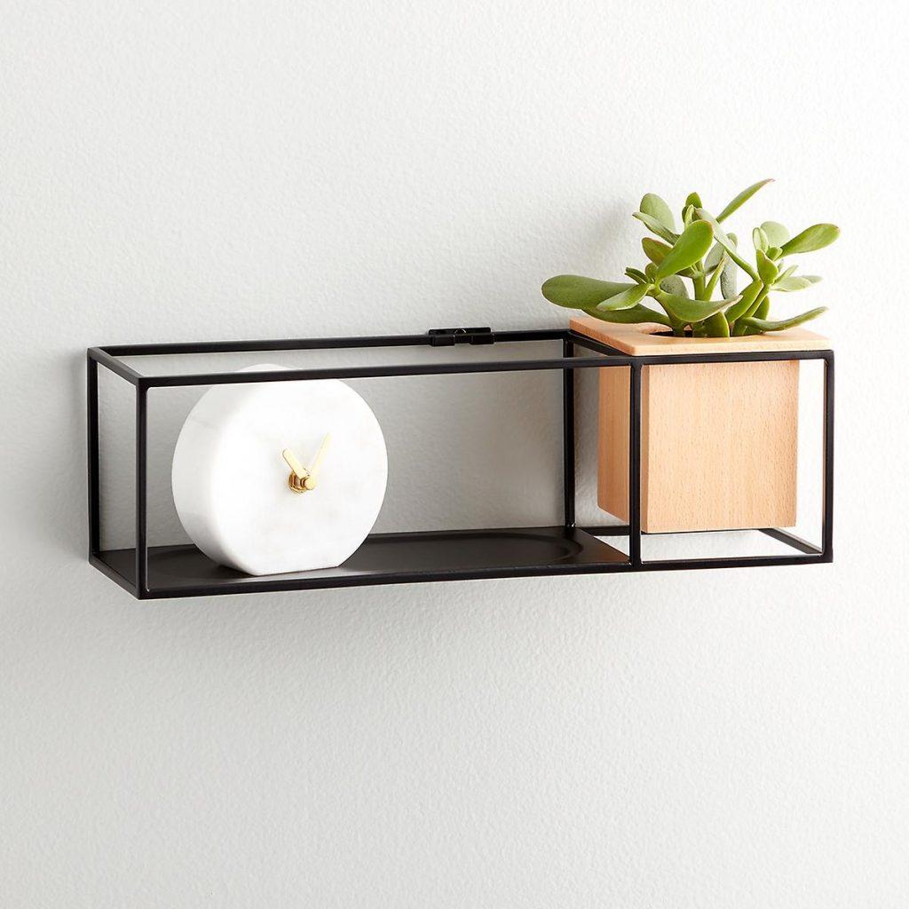 Beautiful Floating Shelf With Inbuilt Planter