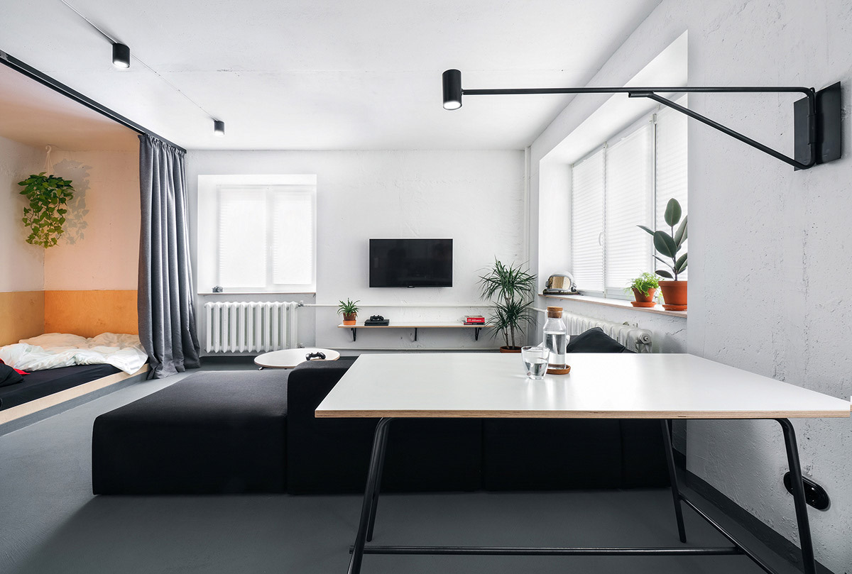Six Calm, Cool & Collected Small Studios  Home Sweet Home