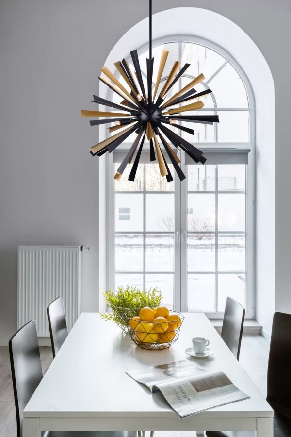Awesome 51 Sputnik Chandeliers To Give Your Decor A Contemporary Spiritservingveterans Wood Chair Design Ideas Spiritservingveteransorg