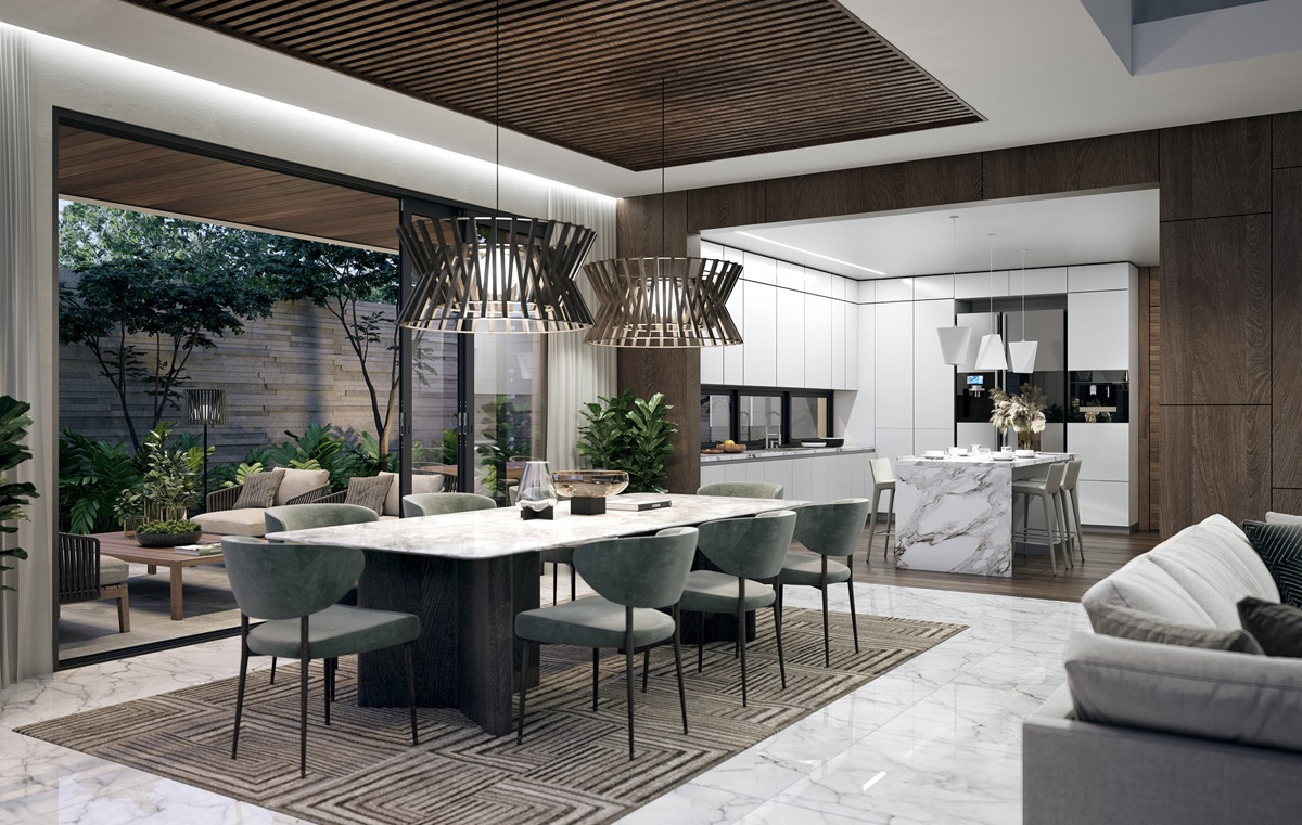 51 Luscious Luxury Dining Rooms Plus Tips And Accessories