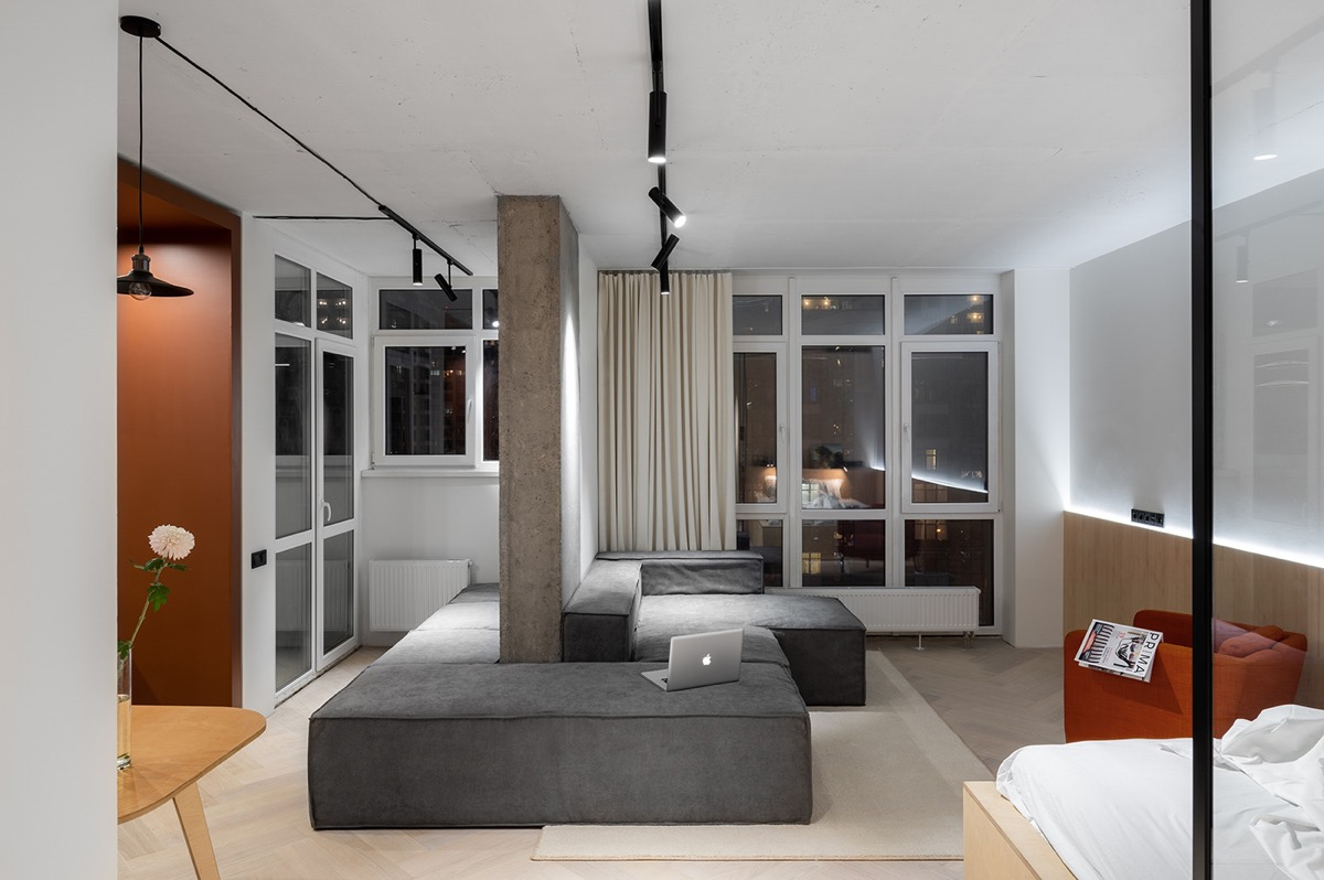 4 Nifty Little Apartments  Design Gallery