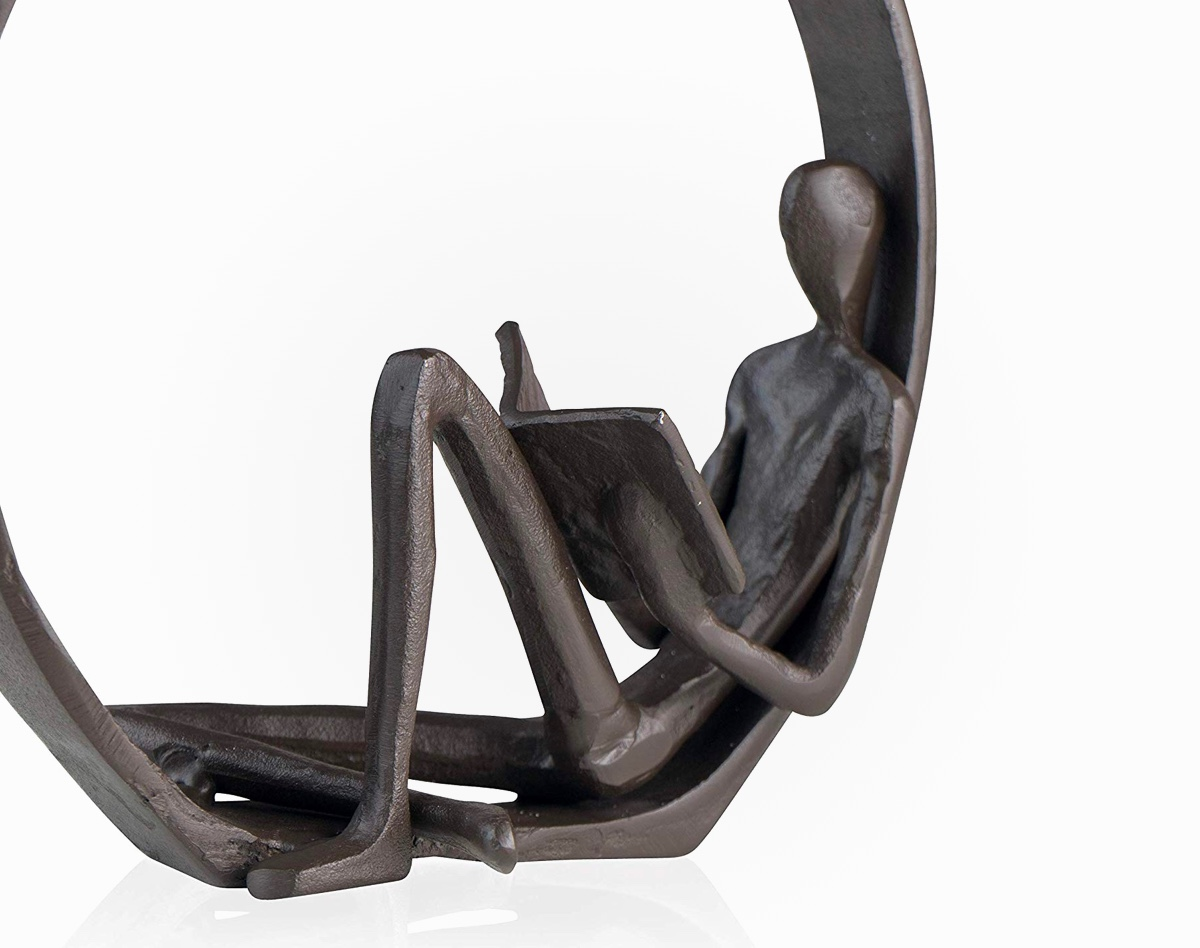 Product Of The Week A Beautiful Reading Man Bookend