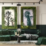 Interiors That Use Plants As Part Of The Palette