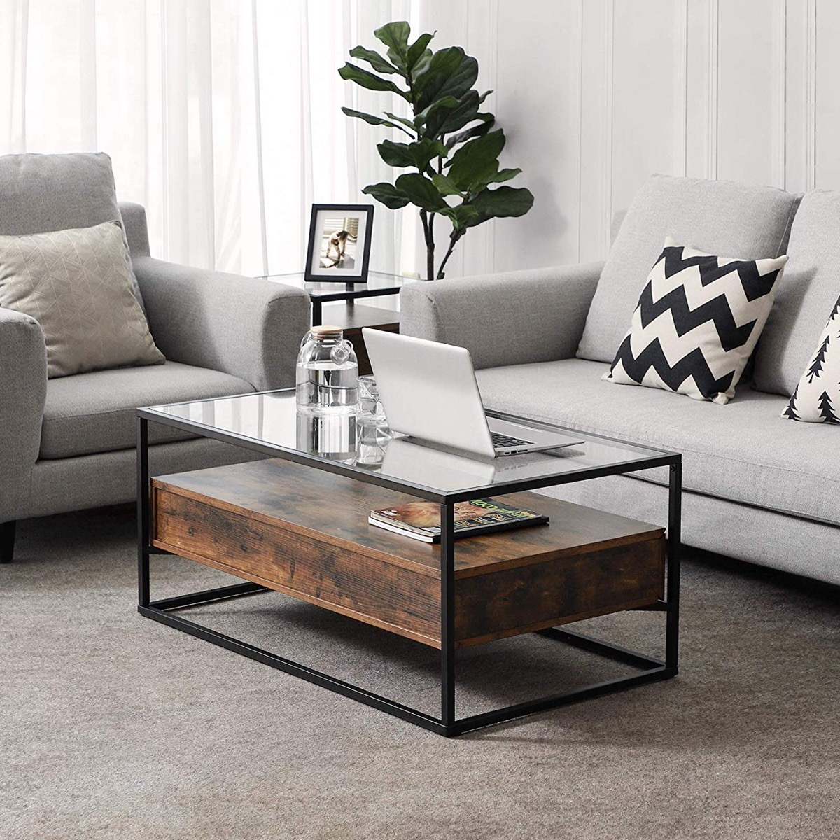 51 Glass Coffee Tables That Every Living Room Craves