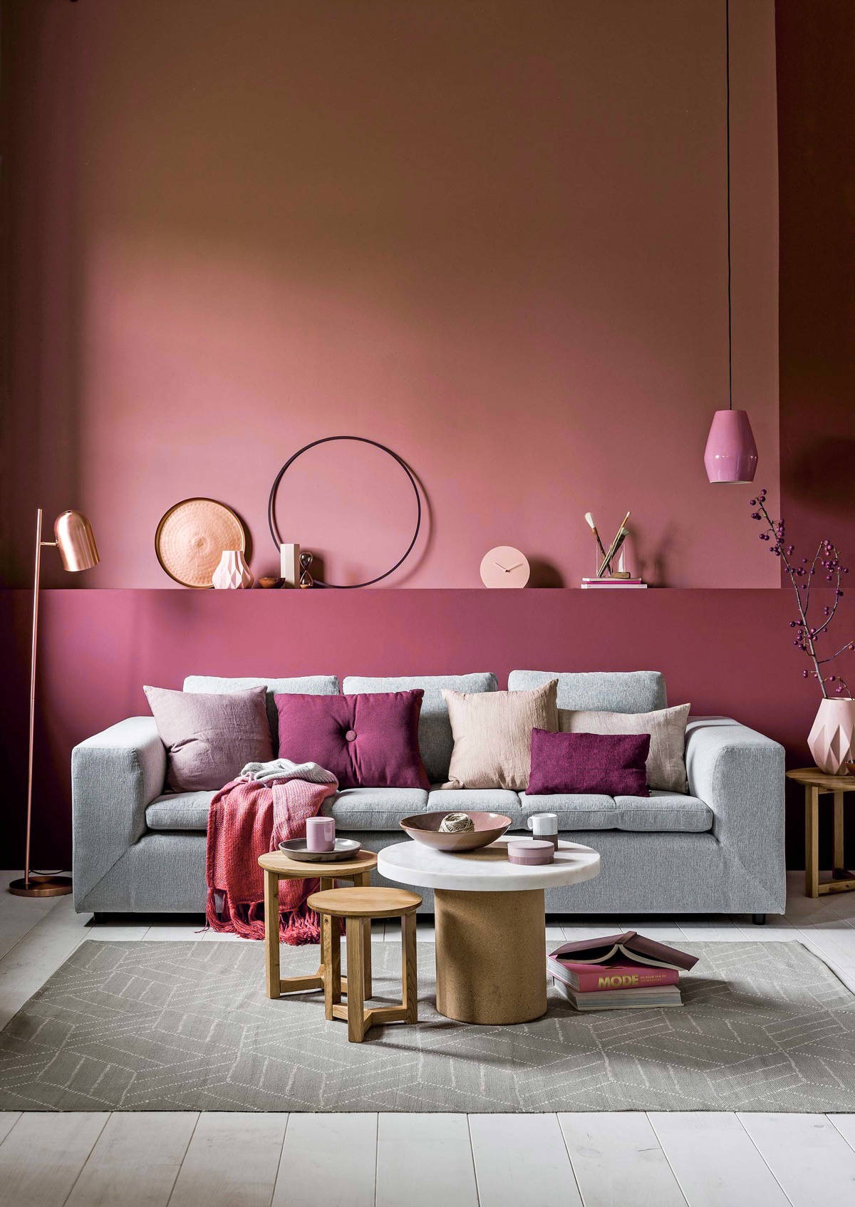 Pink Interior Design 51 Pink Living Rooms With Tips, Ideas And Accessories To
