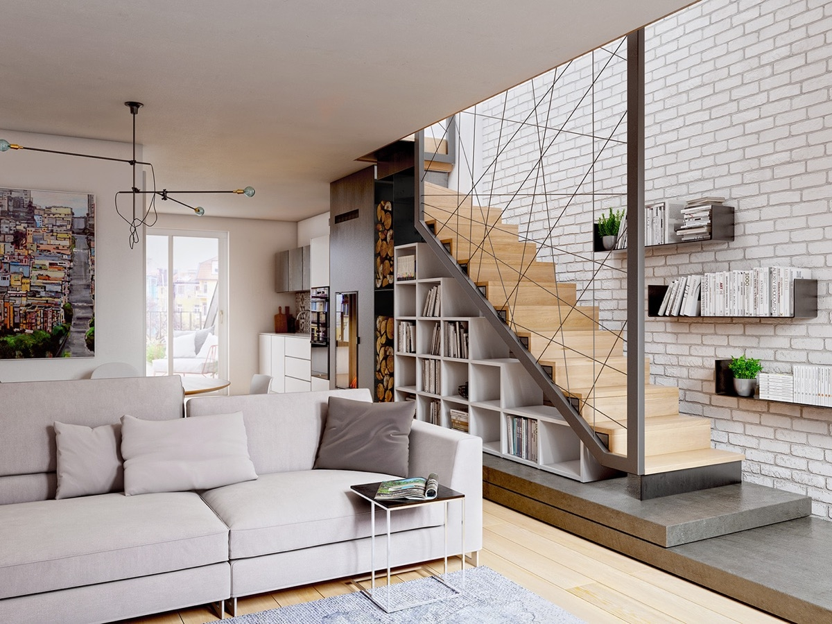 51 Stunning Staircase Design Ideas | Steps Side Wall Designs | Bedroom | Small House | Marble | Dining Room | Wall Highlight