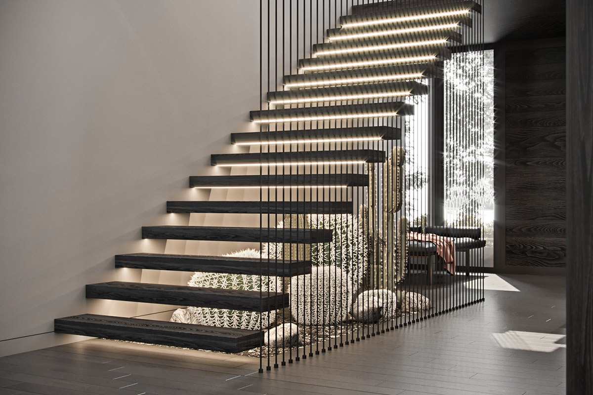 51 Stunning Staircase Design Ideas | Outside Steps Design For Home | Garden | Second Floor | Low Cost | Main Entrance Step | Railing