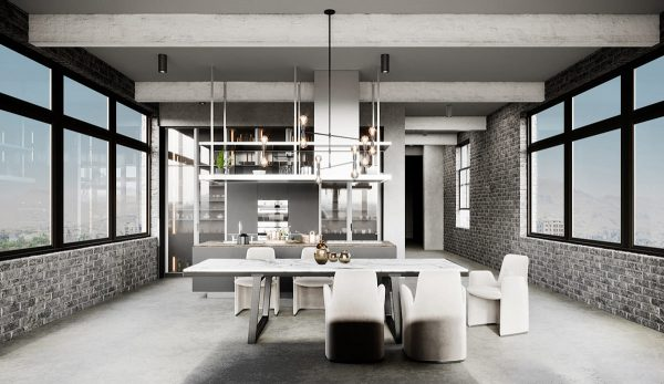 51 grey dining rooms
