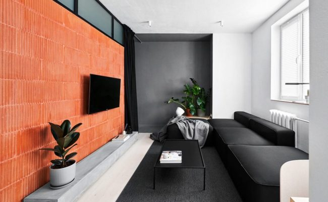 Small Apartments Under 40sqm In Sharp Black White Wood