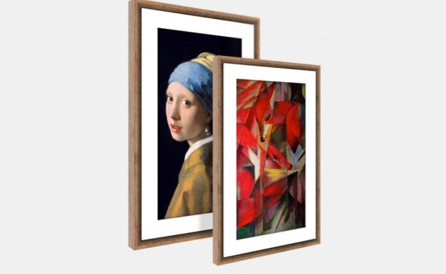 Product Of The Week The New Generation Meural Digital Canvas
