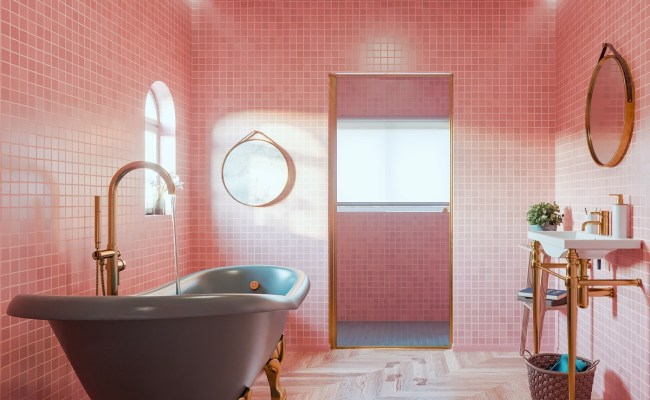 51 Pink Bathrooms With Tips Photos And Accessories To