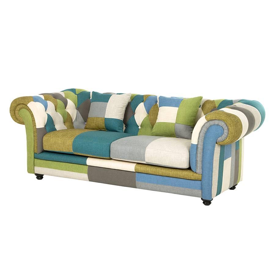 Sofa Grun Blau