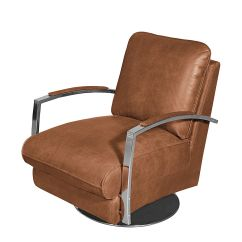 Kramfors Leather Sofa Billig Gra Med Chaiselong Sessel