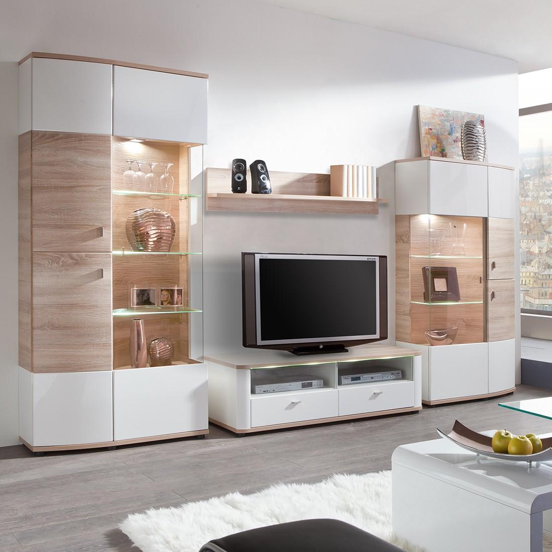 Wohnwand Xora Eiche Wohnwände Online Kaufen Möbel Suchmaschine