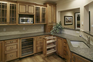 Install Cabinets