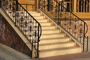 2020 Wrought Iron Railing Cost Install For Stair Porch Balcony | Metal Railing For Steps Outside | Front Porch | Deck Stair | Aluminum | Deck Railing | Staircase