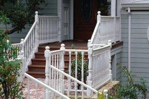 2020 Cost To Build Or Remodel A Staircase Homeadvisor | Outdoor Stairs To Second Floor | Rooftop Deck | Second Level | 2 Tier | Narrow | High Deck