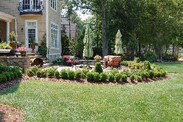 lakefront landscaping
