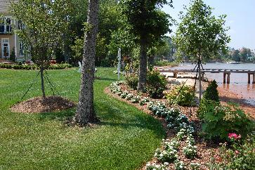 lakefront landscaping