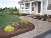 Pictures Of Landscaping For Front Door Entrances PDF