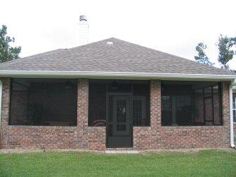 Screened Porch Addition Pictures and Photos