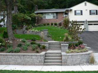 Retaining Walls and Stairs Pictures and Photos