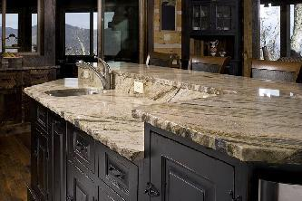 granite kitchen countertops pictures laminate smokey mountain retreat and photos