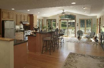 kitchen cabinet painting contractors long tables great room addition pictures and photos