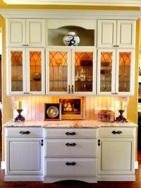 French Country Kitchen in Camarillo - tan granite counter ...