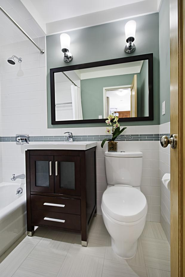 remodeled bathrooms on a budget