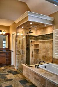 Traditional Bathroom in Blue Springs - black, white ...