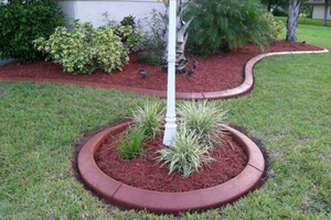 5 concrete landscape edging