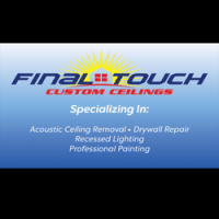 Final Touch Custom Ceilings   Chino, CA 91710 - HomeAdvisor