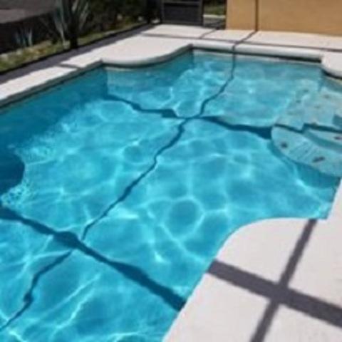 contemporary pool in orlando