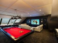 modern shed man cave