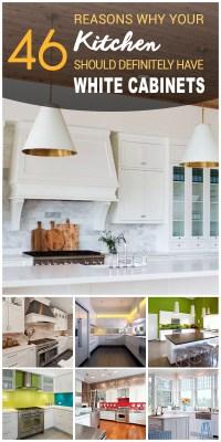 46 Best White Kitchen Cabinet Ideas for 2017