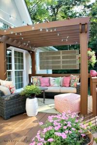 Backyard Landscape: 16 Amazing DIY Patio Decoration Ideas ...