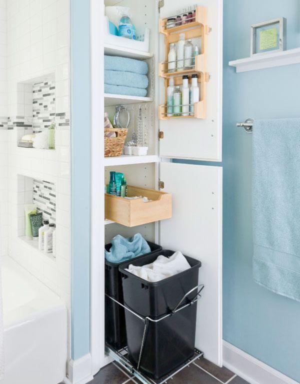 Closet Storage for Small Bathroom Ideas