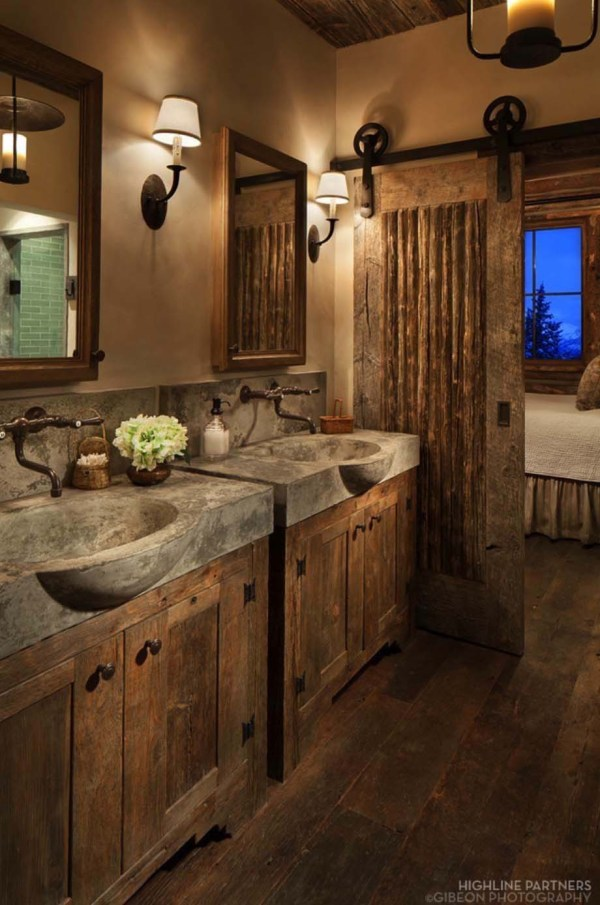 Inspiring Rustic Bathroom Decor Ideas Cozy Home - Style Motivation