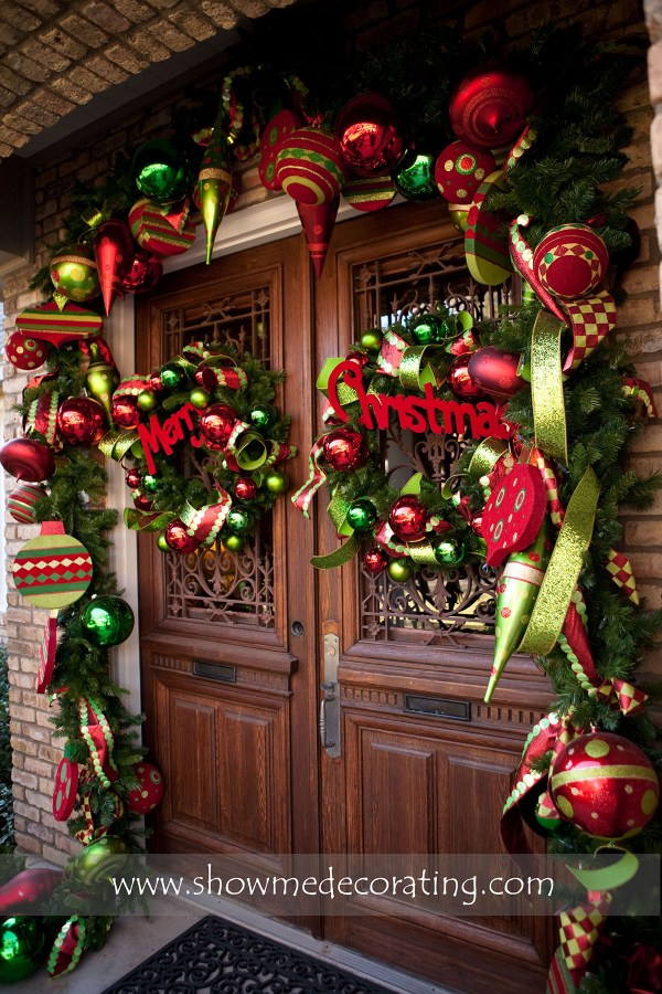 Christmas Entryway Decorations